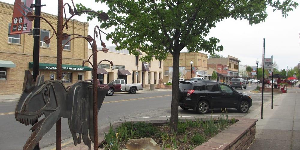 Downtown Fruita Colorado