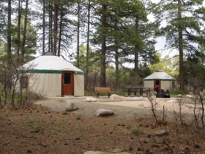 Mancos State Park Yurts