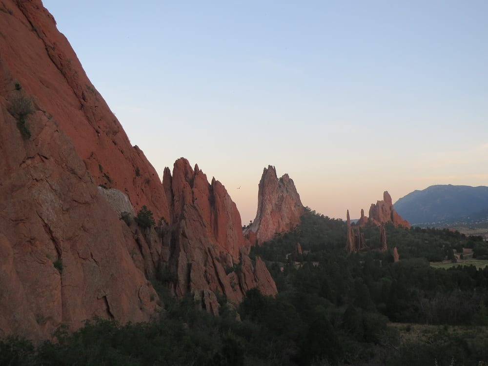 Garden Of The Gods Park National Natural Landmark In