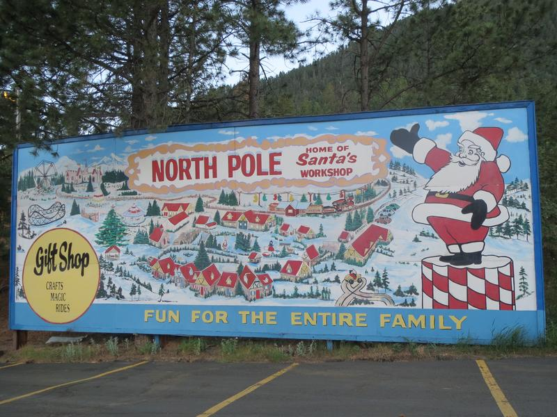 North Pole Santa S Workshop Cascade Colorado Amusement