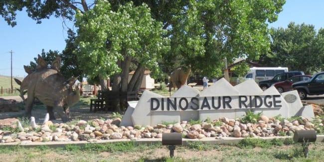Dinosaur Ridge Morrison