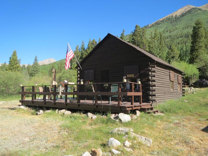Winfield Ghost Town Cabins