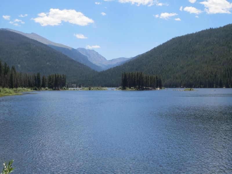 Arapaho national recreation area granby co boating for Camping and fishing in colorado