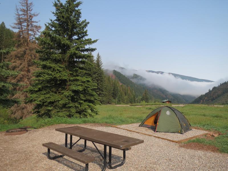 Sylvan Lake State Park Campsite