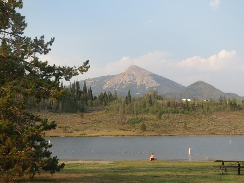 Steamboat lake state park clark colorado state parks for Center hill lake fishing report
