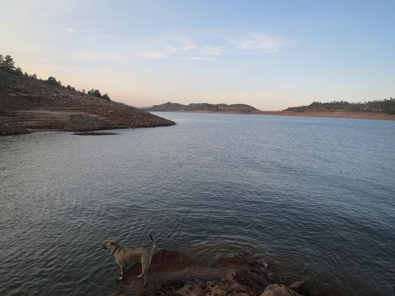 Horsetooth Reservoir Fort Collins Colorado City And