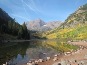 Aspen CO Maroon Bells Lake