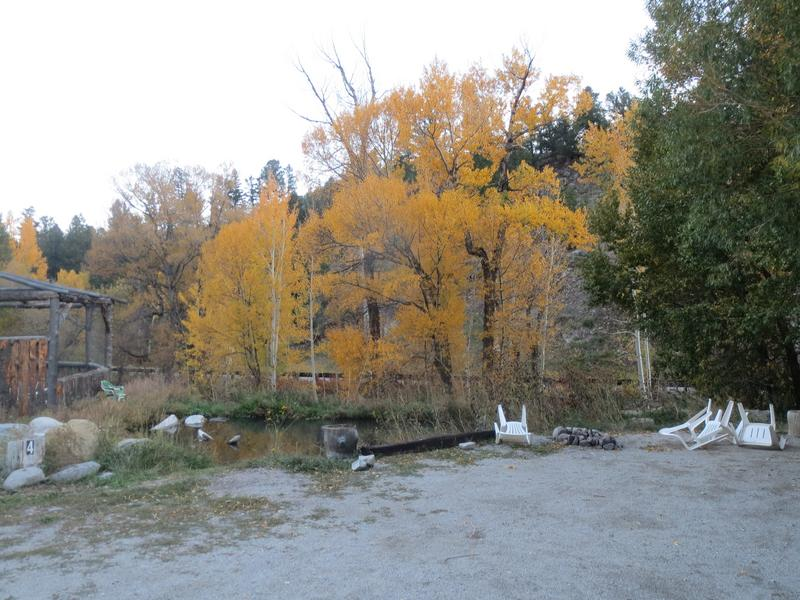 Cottonwood Hot Springs Campground