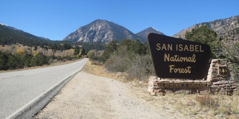 San Isabel National Forest