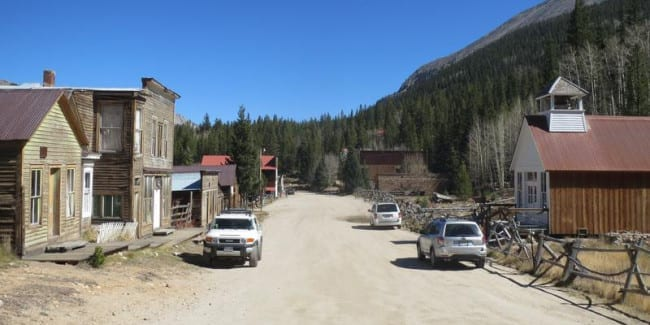 Saint Elmo Ghost Town