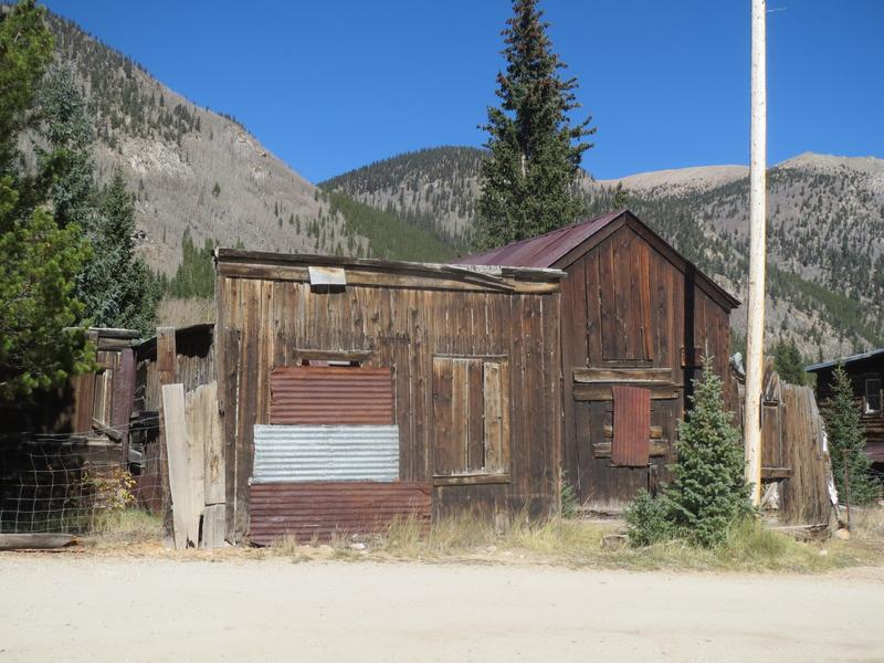 Saint Elmo Ghost Town Chaffee County Colorado Ghost Towns