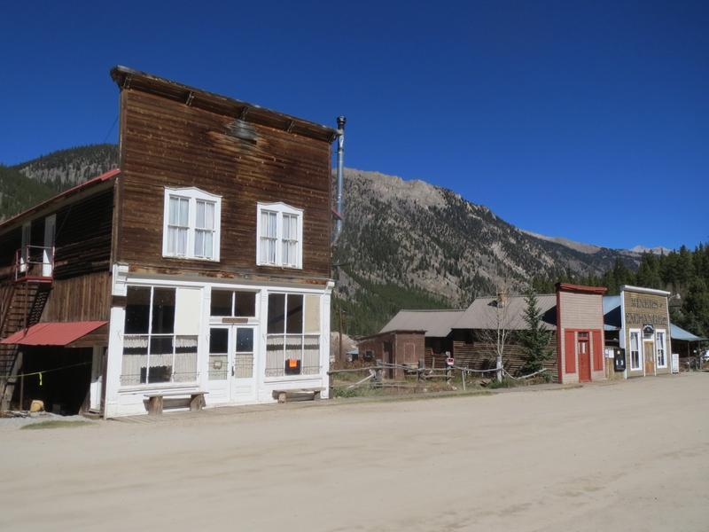 Saint elmo colorado ghost town general store chaffee for St elmo colorado cabins