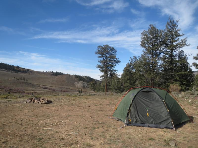 Gunnison national forest central colorado biking for Camping and fishing in colorado