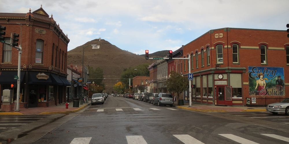 Salida colorado chaffee county towns in co