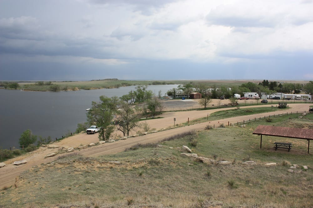 North sterling state park sterling colorado state parks for Camping and fishing in colorado