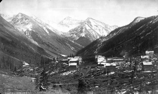 Animas Forks Ghost Town Colorado Ghost Towns