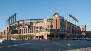 Coors Field Blake Street Denver Colorado