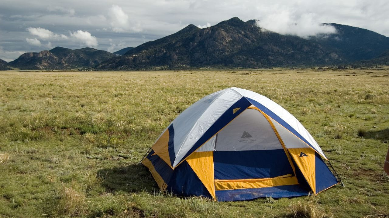 Eleven Mile State Park Camping Tent