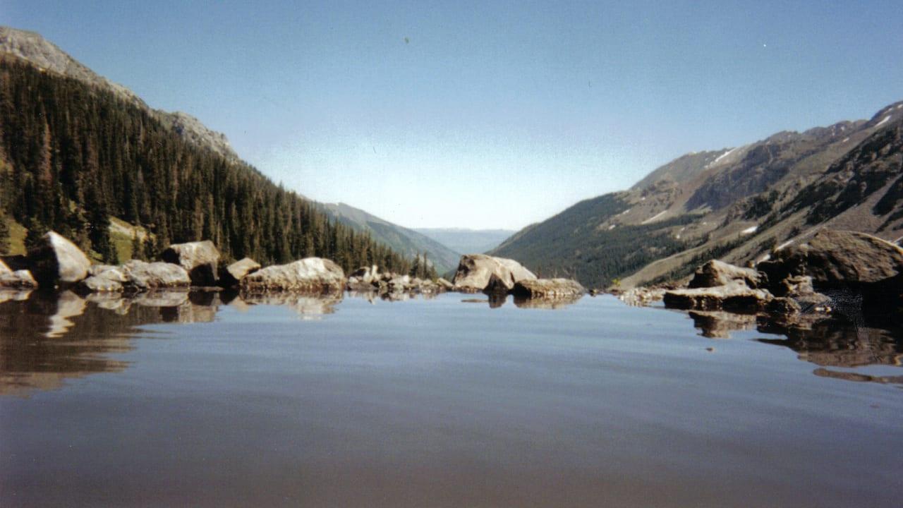 Conundrum Hot Springs Aspen Colorado