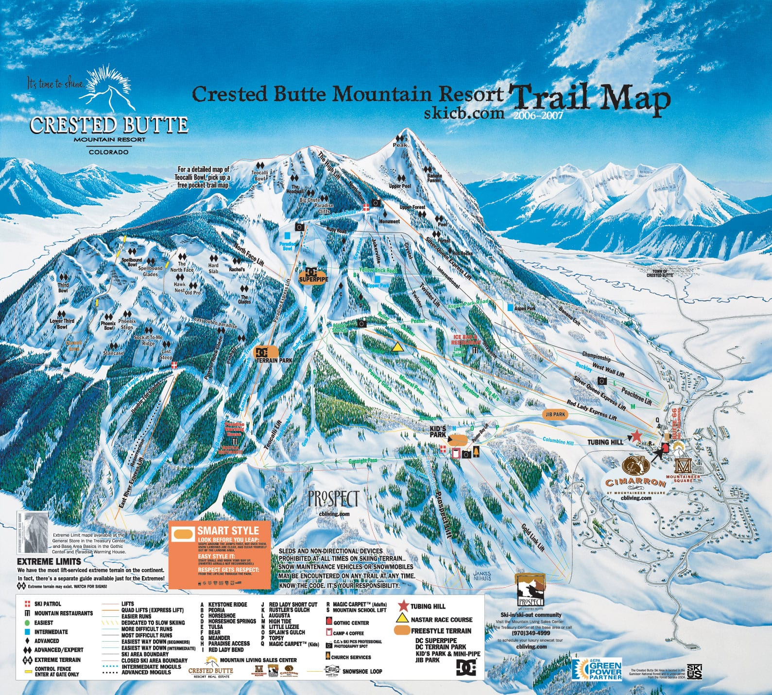 Crested Butte Mountain Resort Colorado Ski Areas