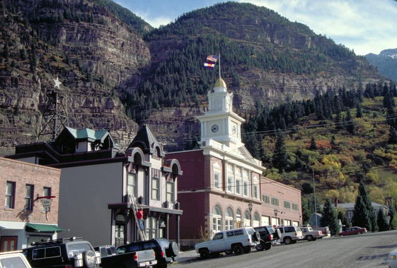 Ouray CO Downtown