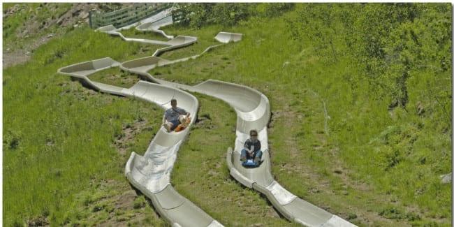 Purgatory Alpine Slide Summer Alpine Slide In Durango CO