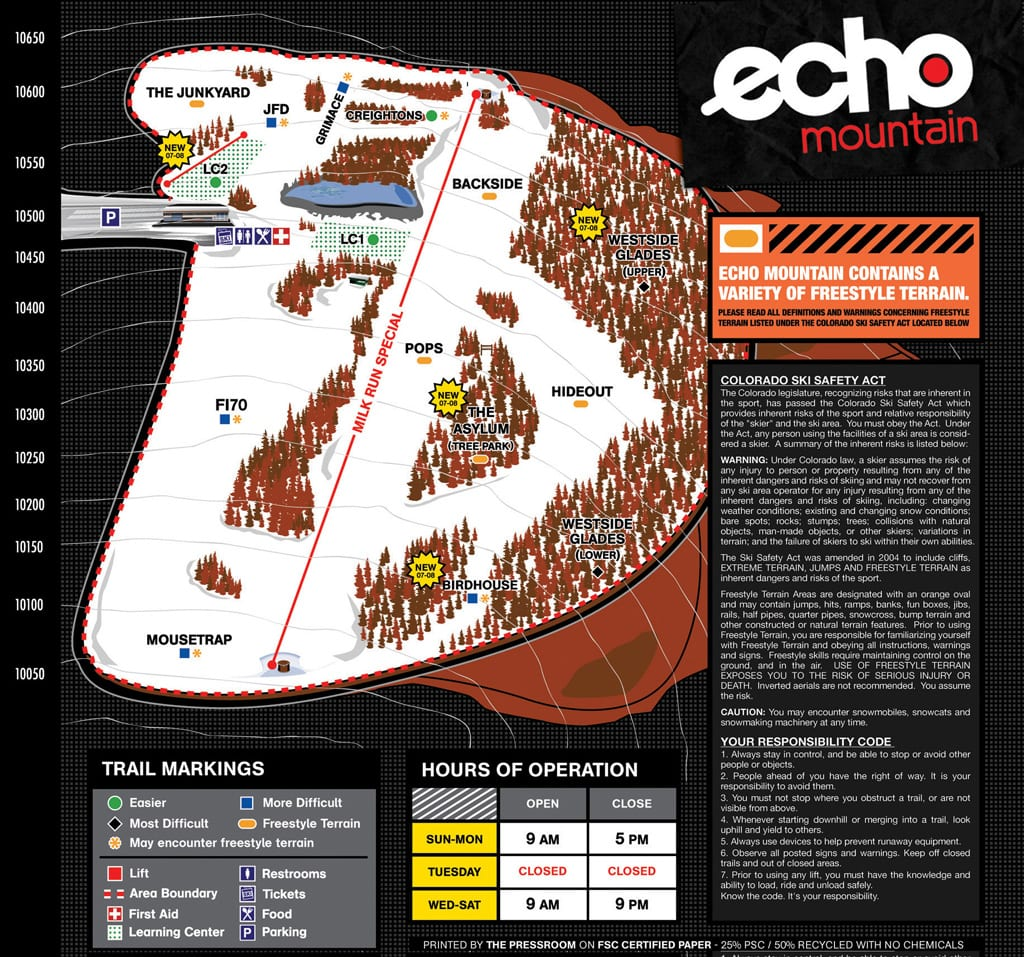 Echo-Mountain-Trail-Map Denver Ski Resorts Map on denver tourism map, denver schools map, denver hotels map, denver las vegas map, loveland ski resort map, eldora ski resort map, denver hiking map, denver pot shops map, winter park ski resort map, banff ski resort map, steamboat springs ski resort map, colorado ski locations map, vail ski resort map, aspen to independence pass map, denver colorado ski resorts, aspen ski resort map, denver skiing, telluride ski resort trail map, denver wineries map,