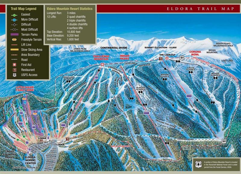 Eldora Mountain Ski Resort Nederland Co Eldora Mtn