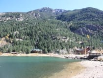 Colorado biking bike parks and trails in co for Lake georgetown fishing
