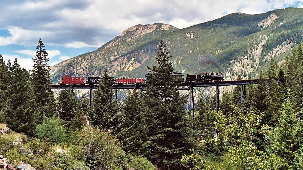 Georgetown Loop Railroad Colorado Bridge