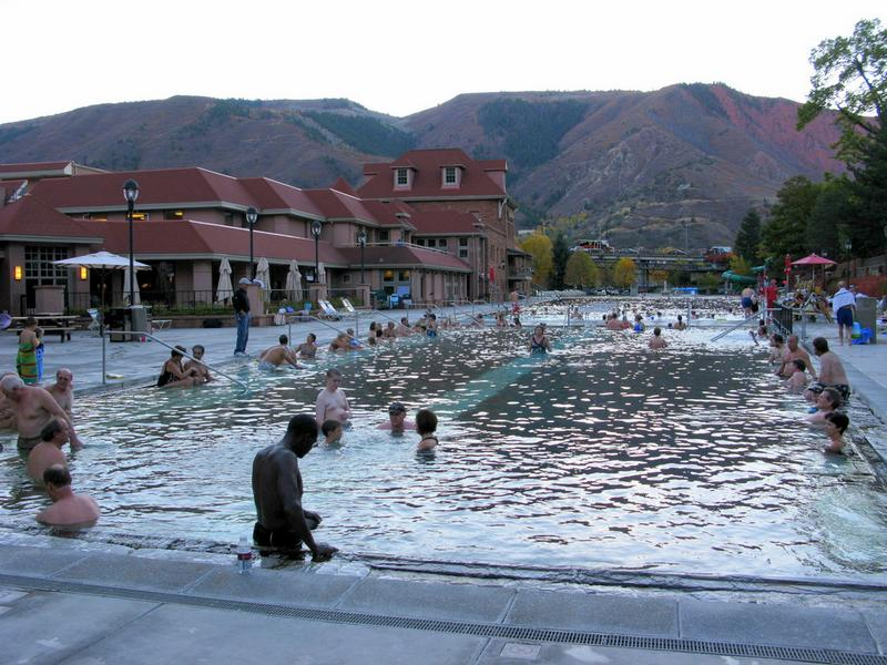Glenwood Hot Springs Glenwood Springs Pool And Lodging