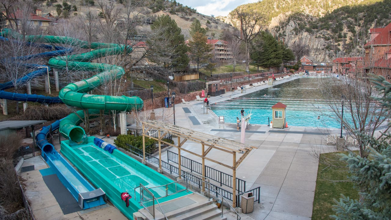 Glenwood Hot Springs Swimming Pool