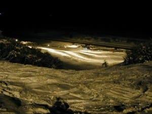 Ski Hesperus Quick Draw Night Skiing