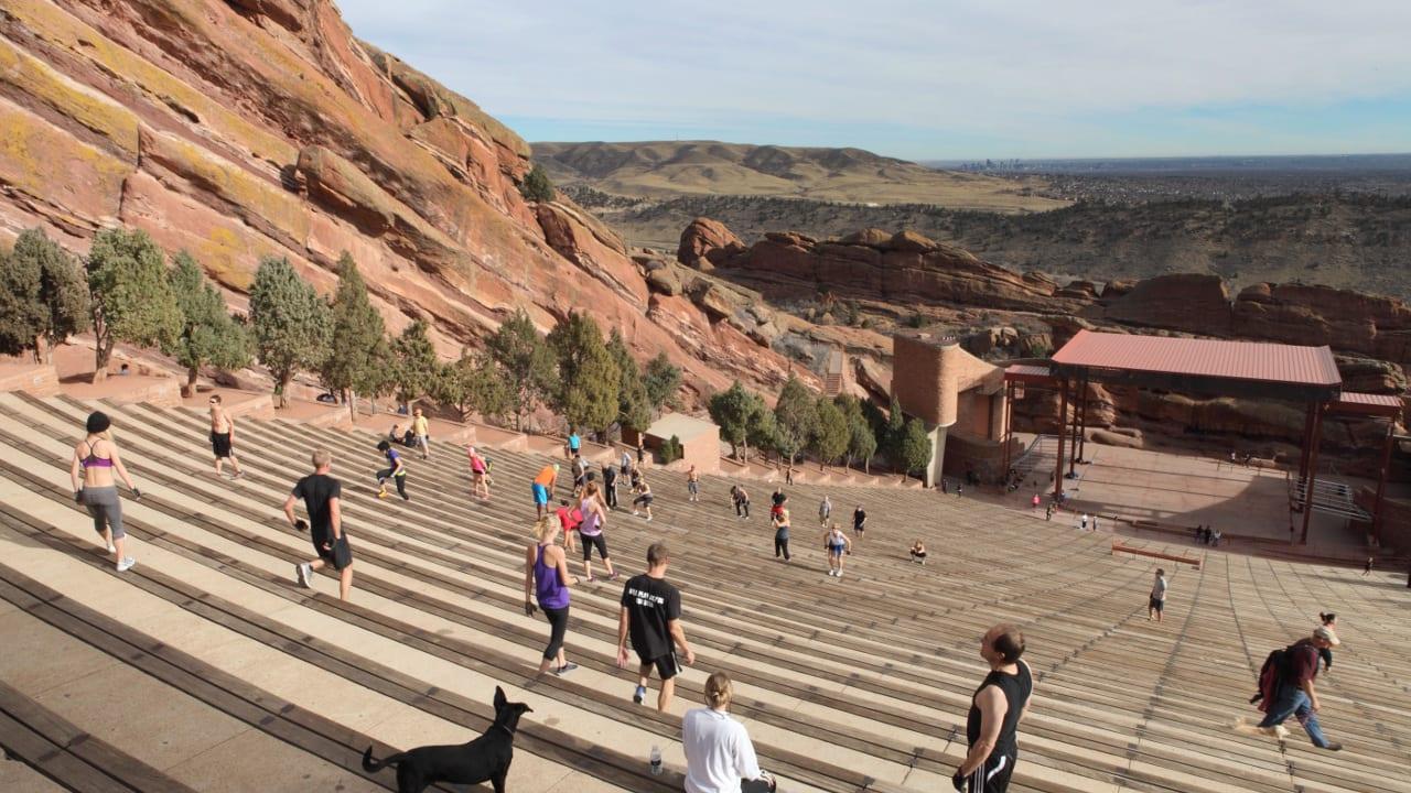 Red Rocks Amphitheatre Morrison Colorado
