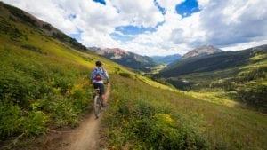 Mountain Biking Crested Butte Colorado