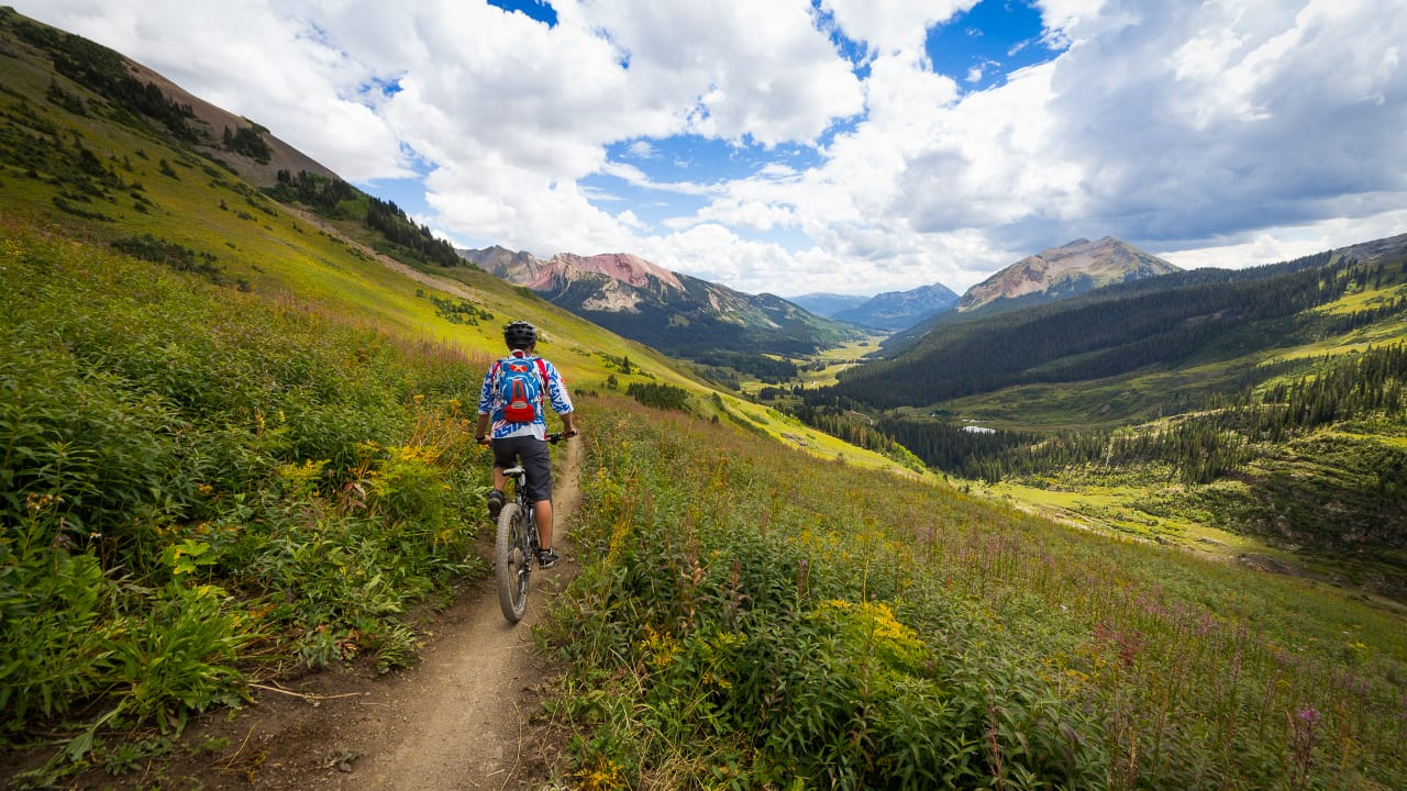Mountain Biking Crested Butte Colorado