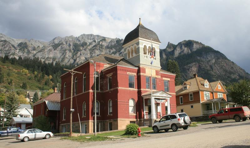 Ouray CO Ouray County Courthouse