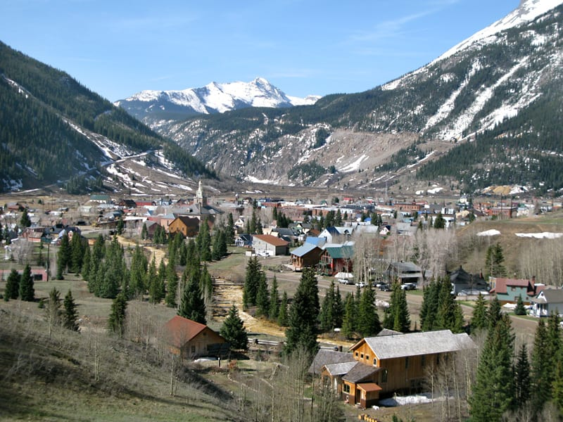 silverton colorado towns