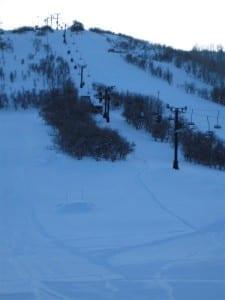 Ski Hesperus Vertical