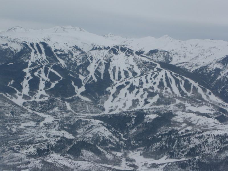 Snowmass Mountain Colorado Ski Areas