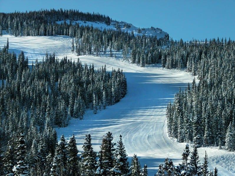 Snowmass Mountain Ski Resort Groomer