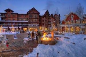 Snowmass Mountain Village Evening