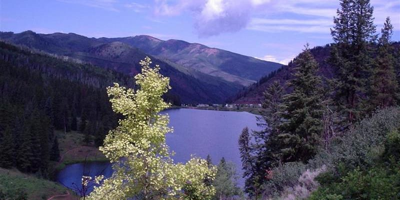 Sylvan Lake State Park Eagle Co Boating Camping