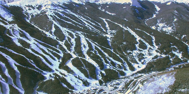 Vail Ski Resort Aerial