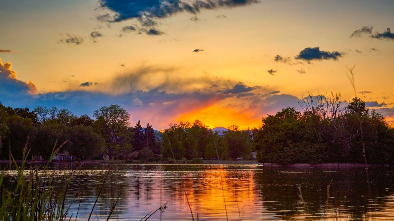 Grasmere Lake Wash Park Denver Colorado