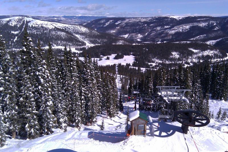 Wolf Creek Ski Area Alberta Lift