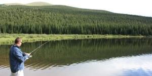 Fishing Echo Lake