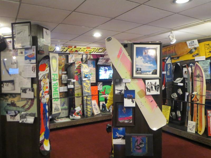 Colorado Ski Museum Snowboards