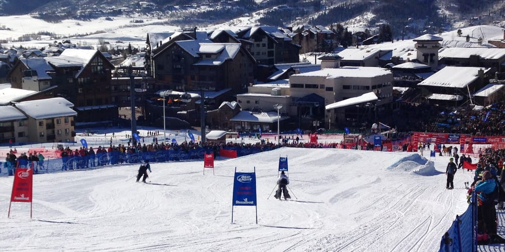 Cowboy Downhill January Ski Racing Festival In Steamboat