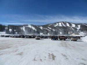Eldora Mountain Resort Parking Lot
